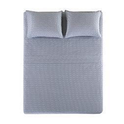 100% Hypoallergenic Cotton Sheets Set - Soft Diamond King Be