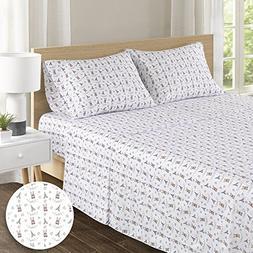 100% Hypoallergenic Cotton Sheets Set - Soft French Bulldog