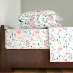 Indy Bloom Design Spring Mermaid Girls 100% Cotton Sateen Sh