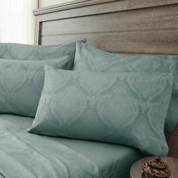 jacquard damask sheet set cotton 800 thread