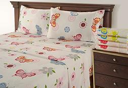 Kids Bed Sheets - 300 Thread Count King Sheets Deep Pockets