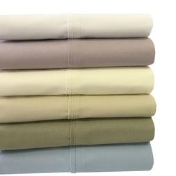 King 4PC 100% Cotton Soothing and Super Soft Deep Pocket Per