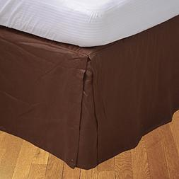 King 600TC 100% Egyptian Cotton Chocolate Solid Superb Finis