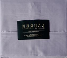 Ralph Lauren 4 Piece King Sheet Set 300 TC Dunham Sateen Cot
