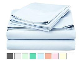 Bed Sheet Set 100% Cotton 800 Thread Count - Like Egyptian C