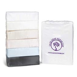 King Silk Sheet Set  - Gunmetal - 22 Momme 100% Pure Mulberr