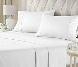 King Size Sheet Set - 4 Piece Set - Hotel Luxury Bed Sheets