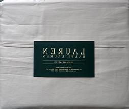 Lauren Ralph Lauren 4 Piece King Sheet Set Dunham Sateen Tan