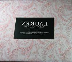 Lauren 4 Piece King Size Sheet Set Paisley Floral Multi Colo