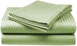 King Size Bed Sheet Set 100 % Cotton Sheets Deep Pocket Fitt
