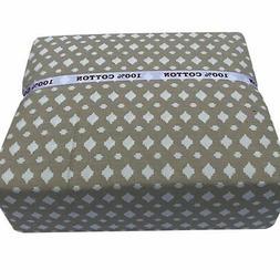 King Size Sheet Set 100% Cotton 4 Pc T500 Thread-Heavy Duty-