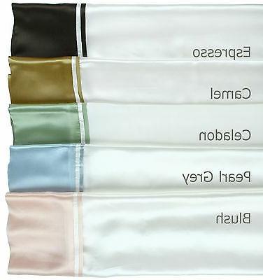 100% 16 Silk Sheet Set Double Top Hem Value Priced