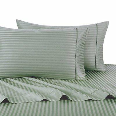 Sheetsnthings 100% Cotton, Bed Sheet Set - 600TC, Split-King