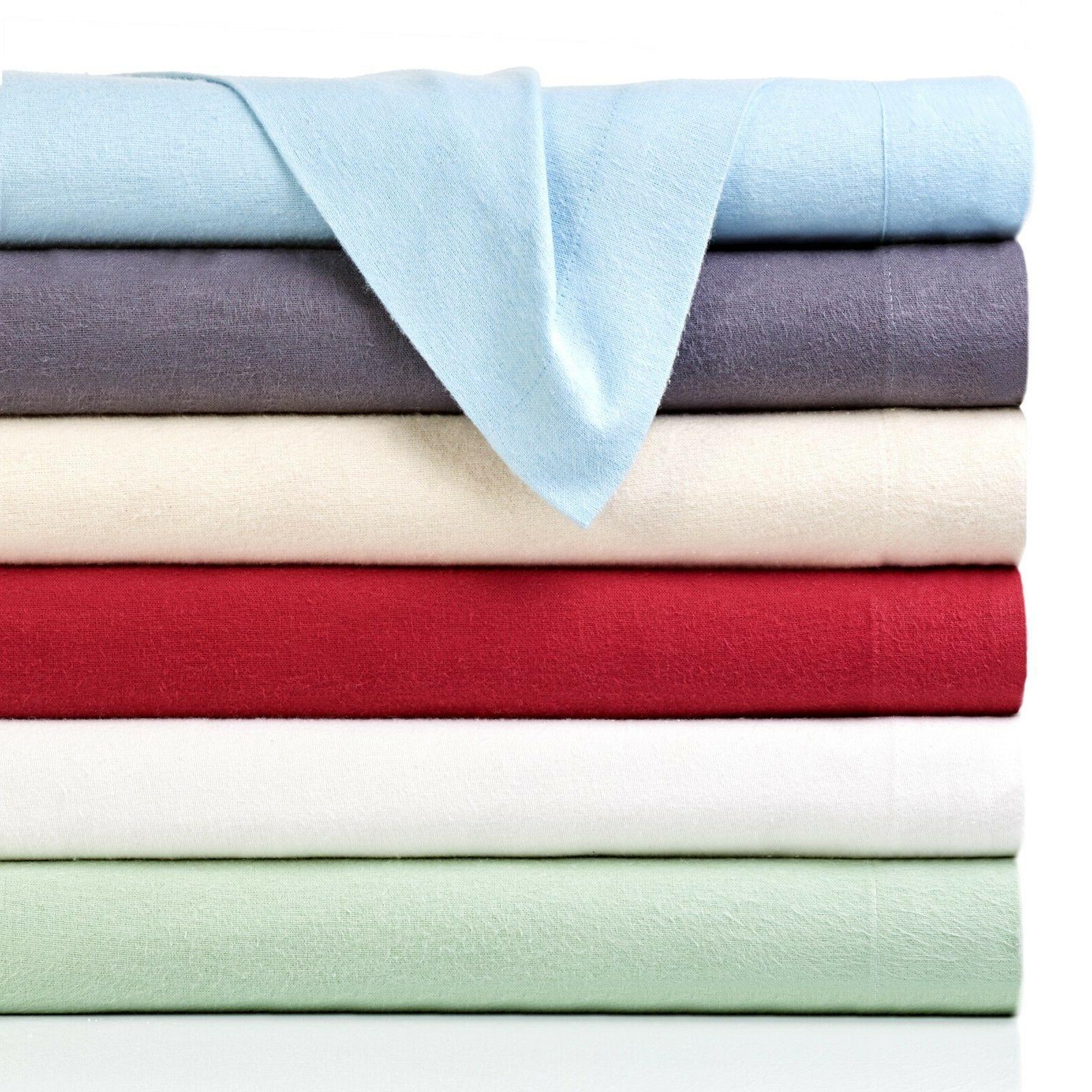 Bibb Home 100% Solid Sheet - Cozy, Deep Pocket