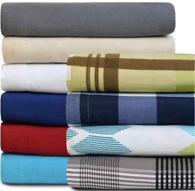 100% Cotton Sheet Set Brushed