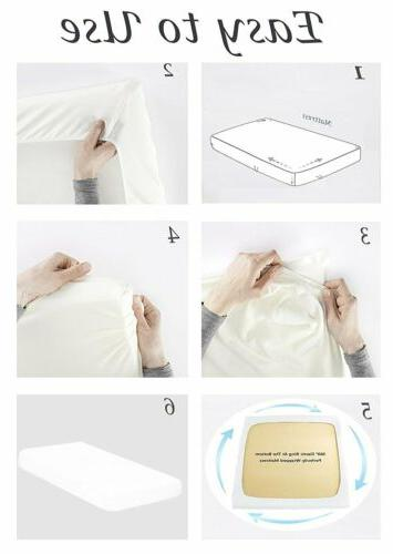 100% Staple Combed Cotton 6 Piece Bed Sheet Set Deep Pocket