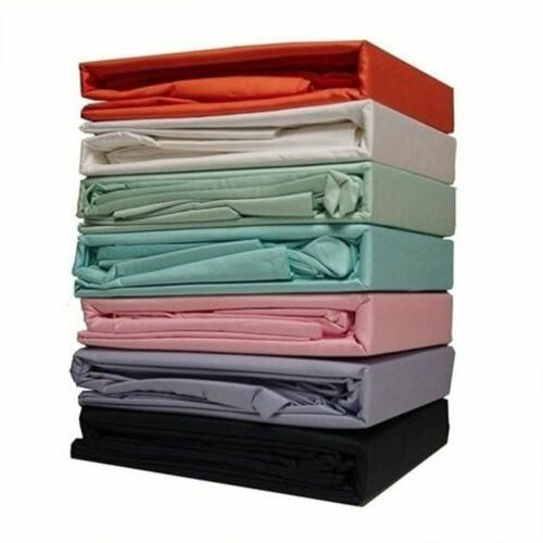 100% Long Staple Cotton 4 6 Bed Sheet 14''