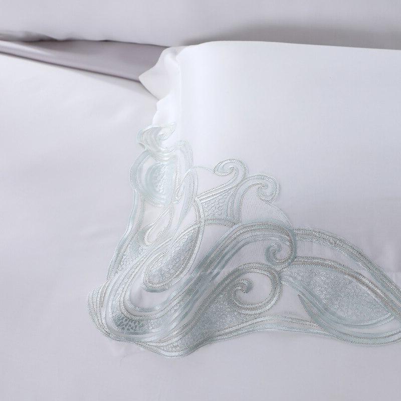 100% Lyocell 4 Piece White <font><b>800</b></font> Girl Princess Bed Size <font><b>Sheets</b></font>