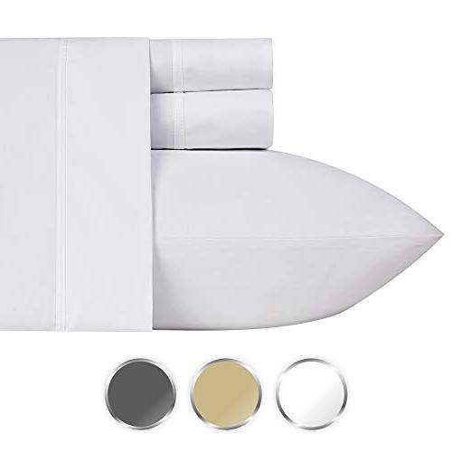 1000 thread cotton bed sheets