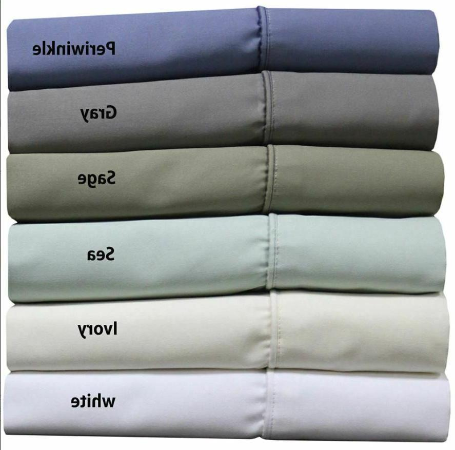 1000 thread count cotton blend wrinkle free