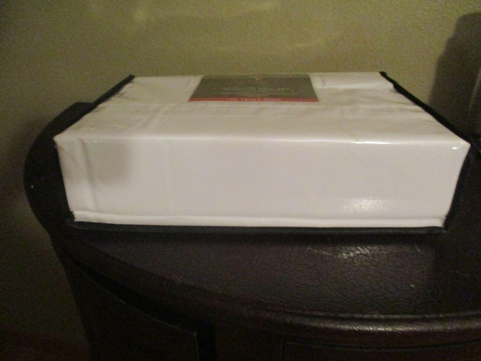 Tribeca 120 Microfiber 6 pc Pocket Set - White NIP