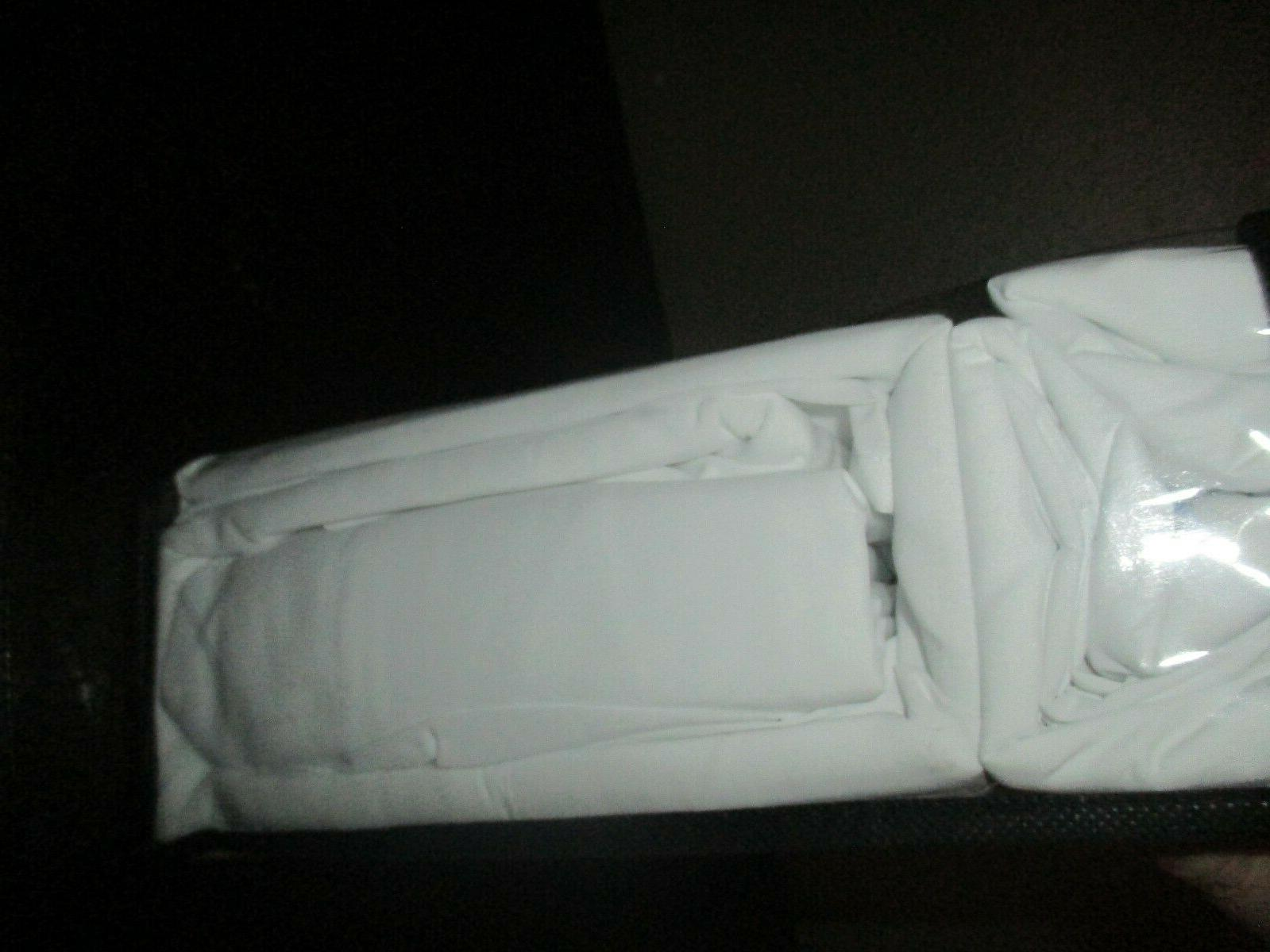 Tribeca Microfiber 6 Deep Pocket - White NIP