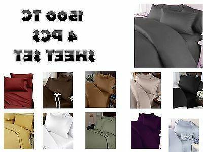 1500 TC Deep Pocket ULTRA SOFT Sheet Set 4 pc Full Queen Kin
