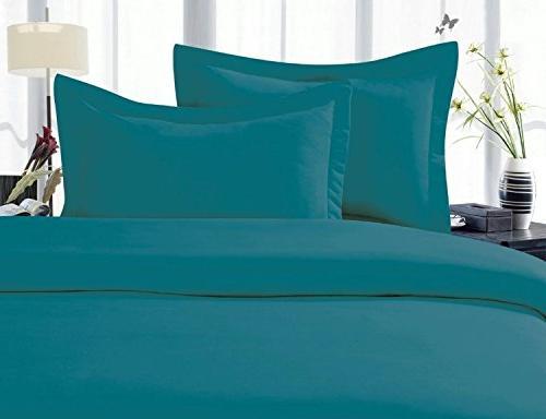 bed sheet turquoise king pocket