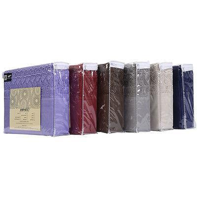 1600 Count Bed Set Deep Pocket Color