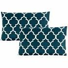 Mellanni 1800 Collection Designer Pillowcase Set Wrinkle, Fa