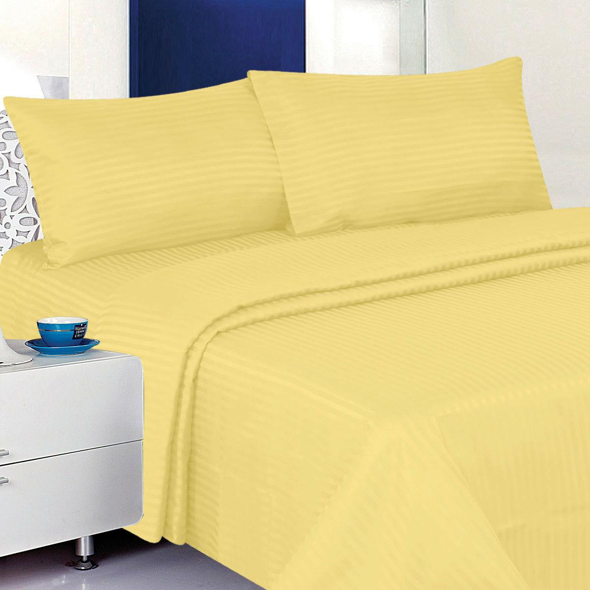 1800 Count Dobby Deep Bed Set