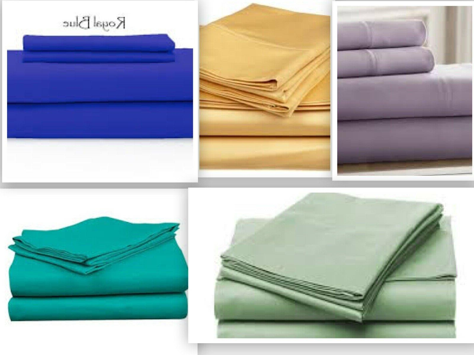 1800 count fitted sheet deep pocket 16