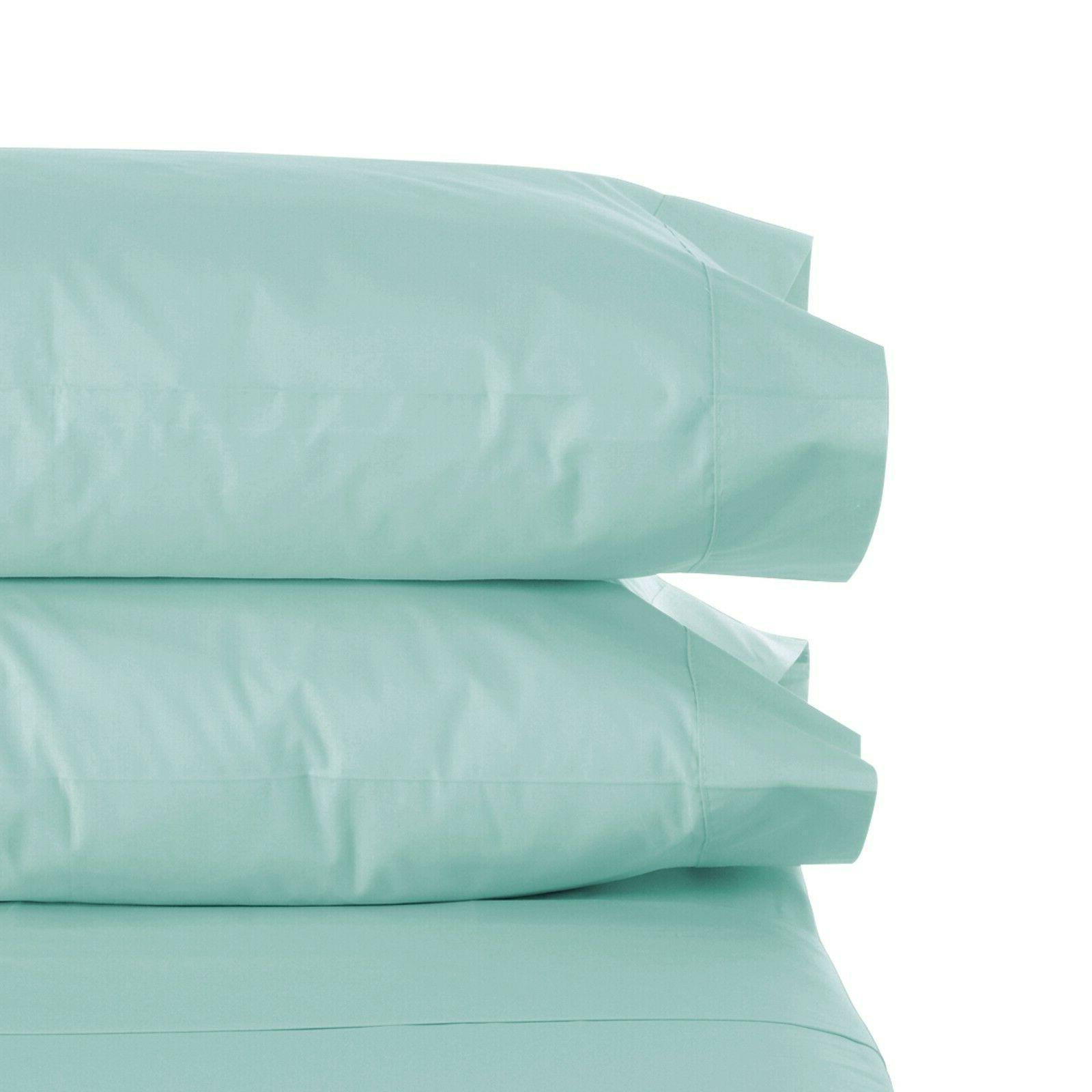 1800 count pillow case set queen standard
