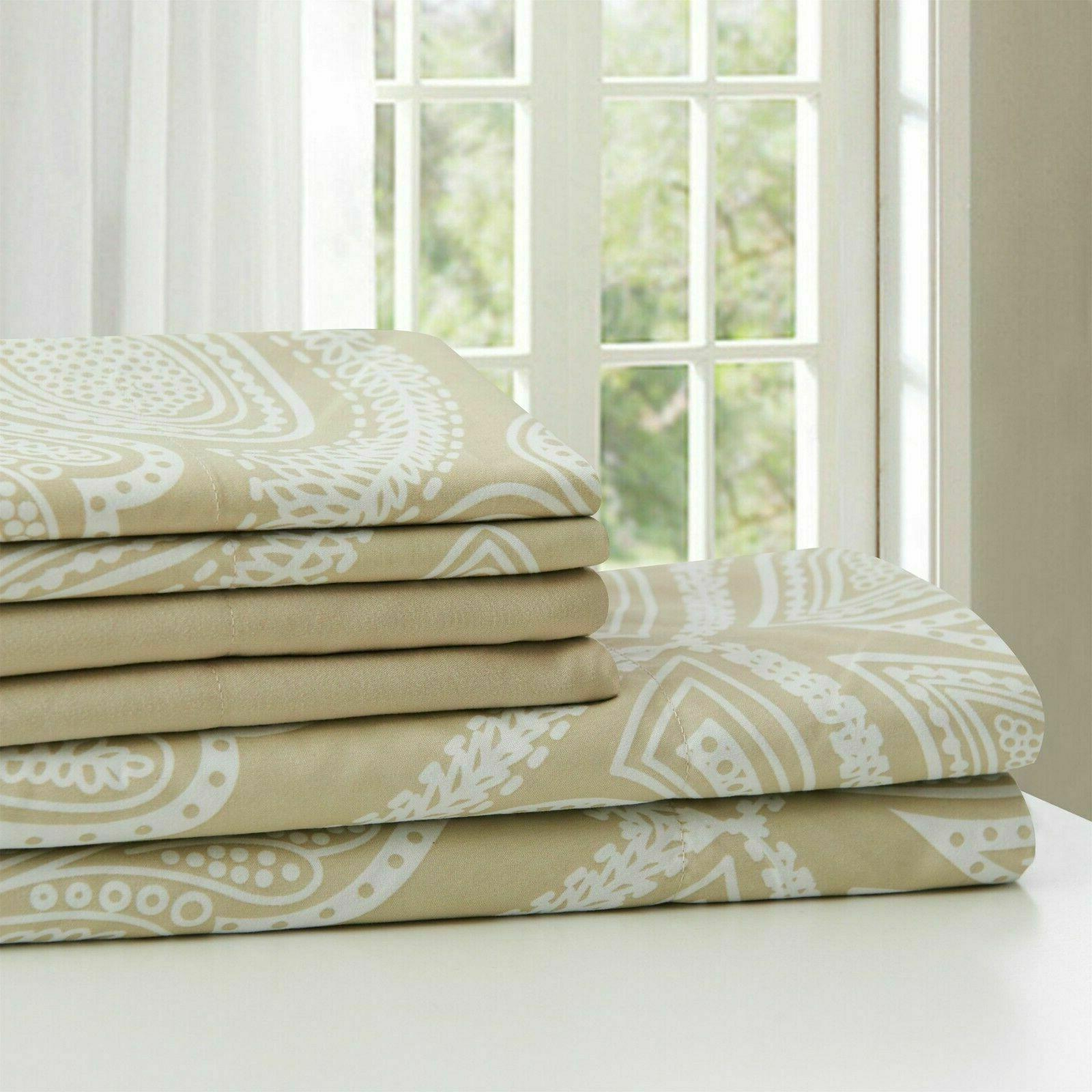 Thread Count Pocket Bed Sheet Sheets