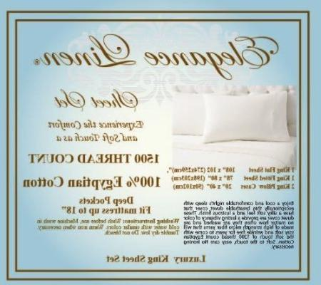 "Elegance ® Thread Egyptian Quality 4 Sheet set, Deep 18"" Lilac"