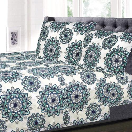 Sweet Home Collection 1800 Thread Count Bed Set Egyptian Qua