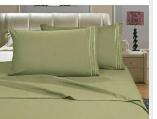 Elegant 1500 Thread Count Egyptian Bed D