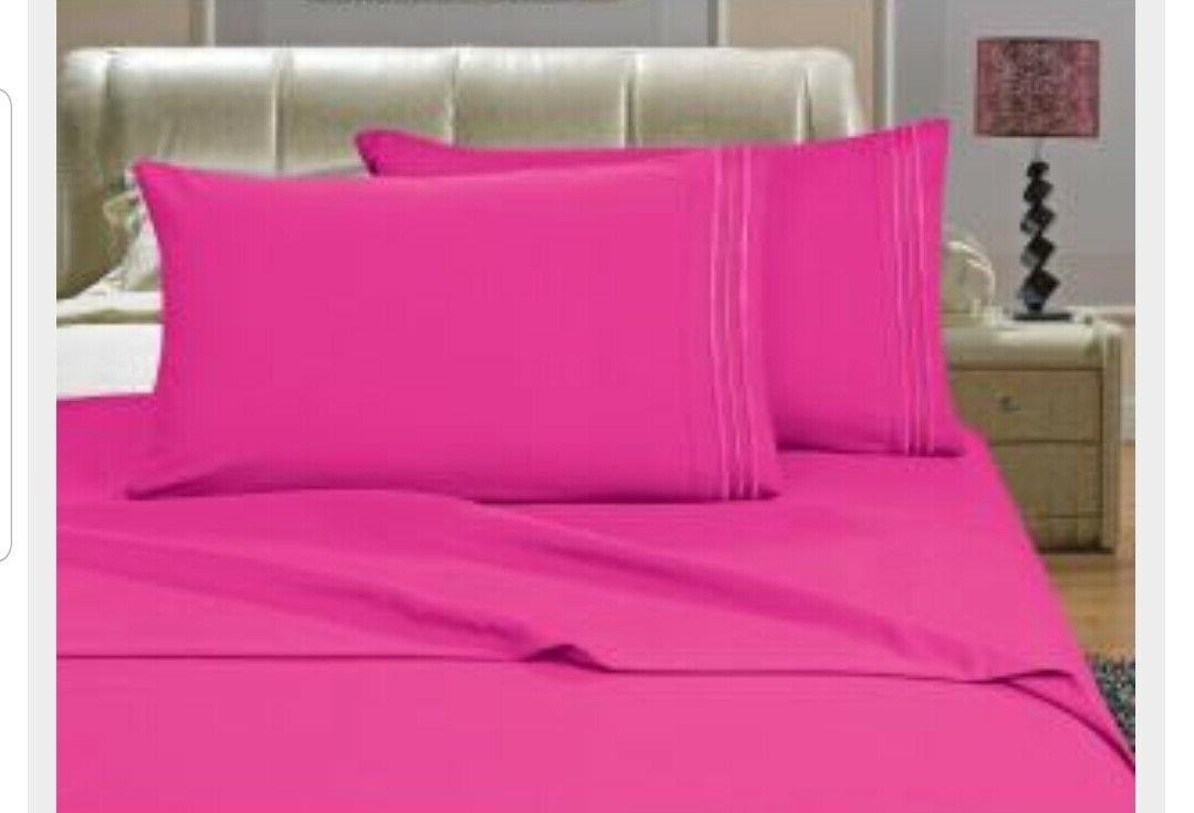 Elegant Comfort Thread Count Bed Sheet Sets D