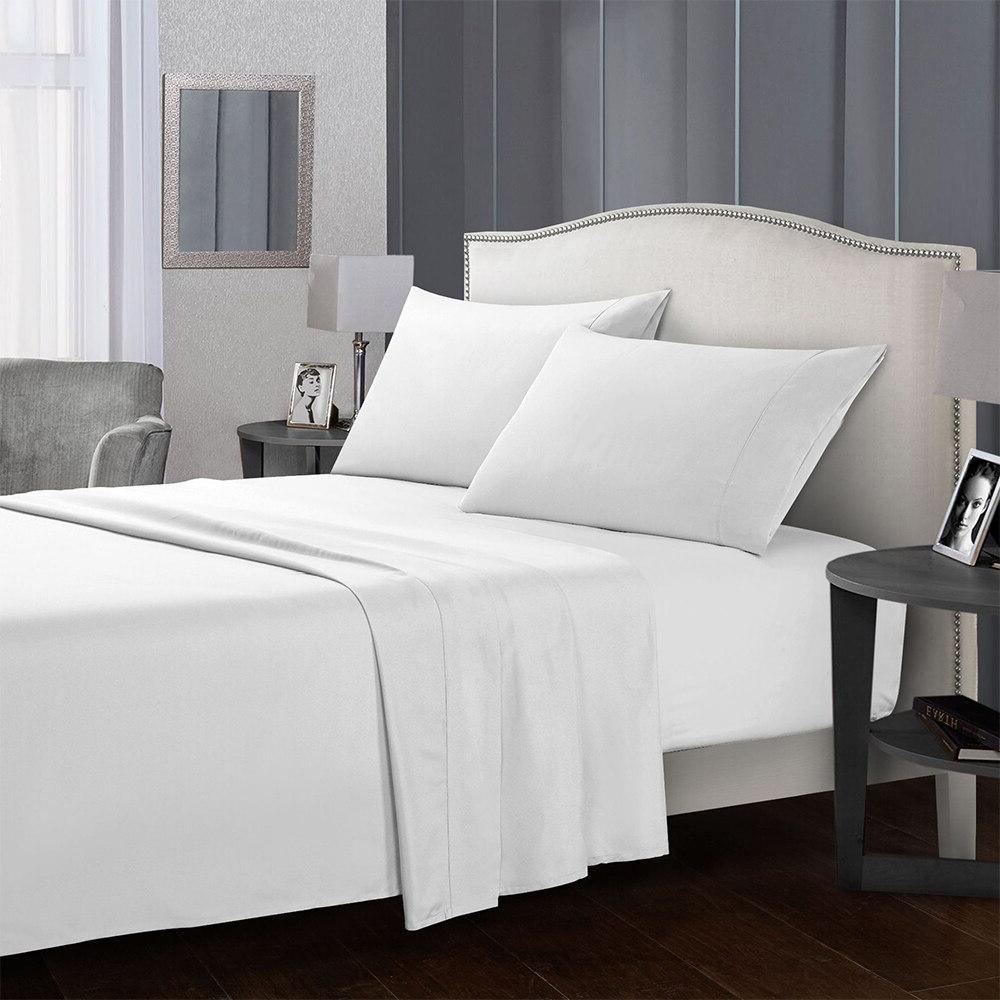 4 Piece Bed Set <font><b>Extra</b></font> Microfiber Bedding Deep Hypoallergenic & Free