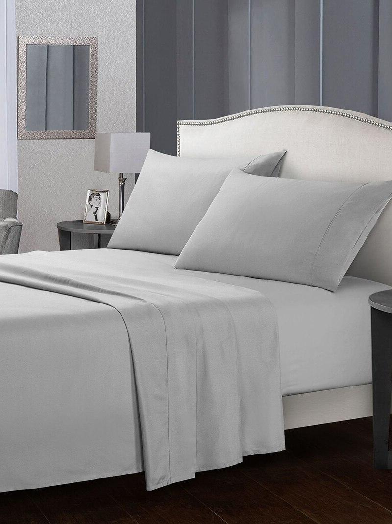 4 Piece Bed Set Soft Microfiber Deep Hypoallergenic &