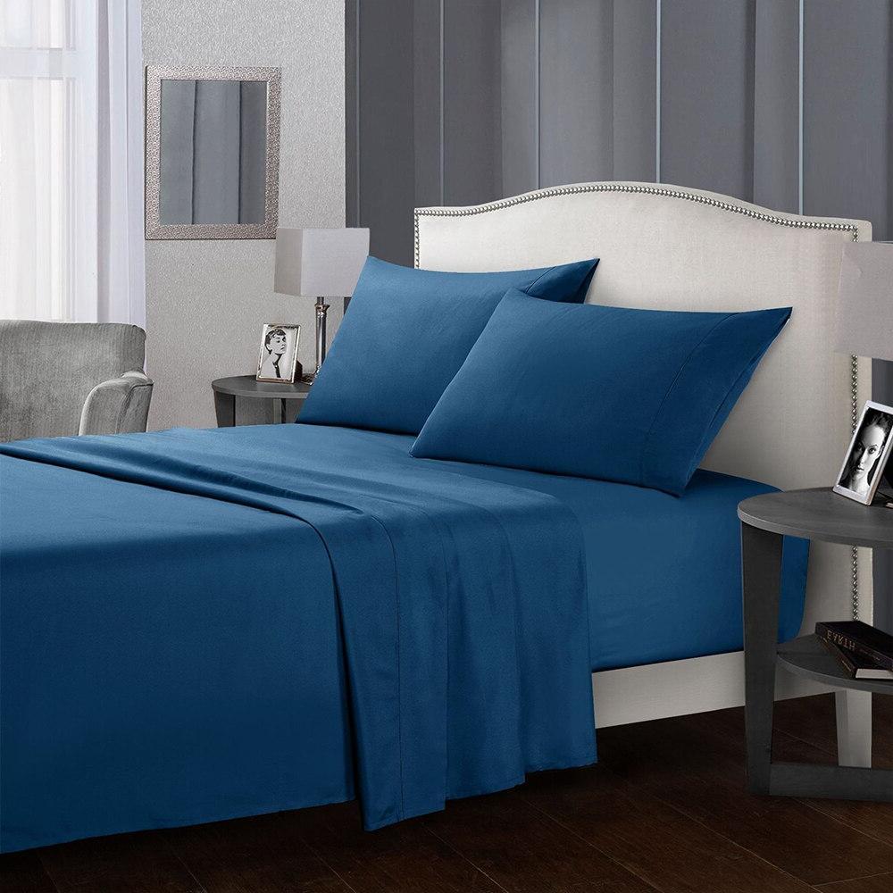 4 piece bed font b sheets b