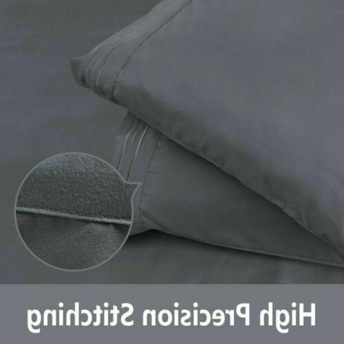 4 Piece Deep Bed Comfort Count Bed Sheets Queen Size