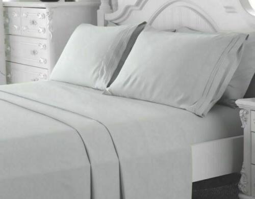 4 Piece Deep Pocket Bed Comfort Count Bed Queen Size