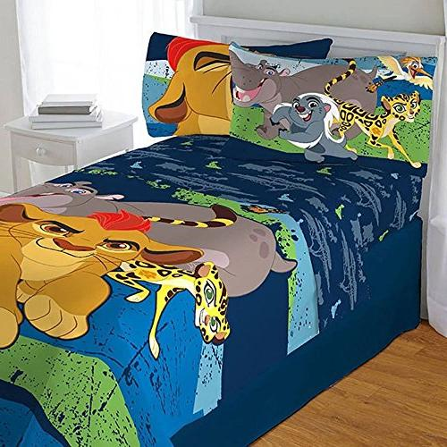 4pc Disney Lion Guard Twin Bedding Set Lion King All For One