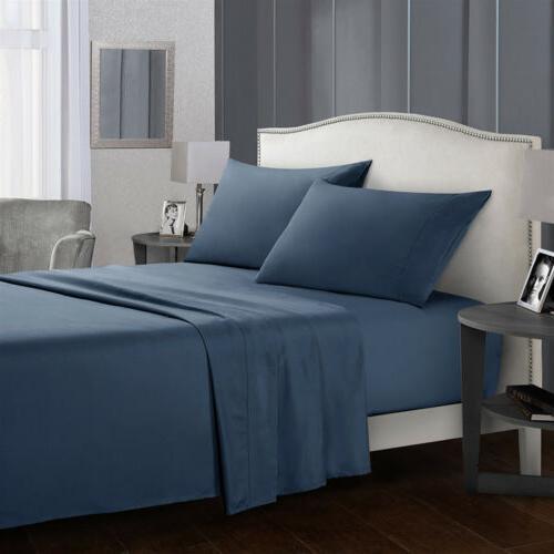 4 Set 1800 Egyptian Bed Full King