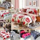 4Pcs Queen/King 3D Printed Bedding Set Quilt Cover Bed Sheet