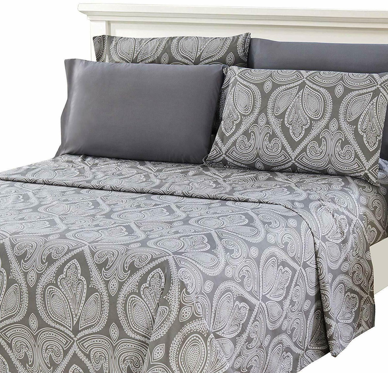 Deep 6 Piece Bed Sheet Set 1800 Series Sheets