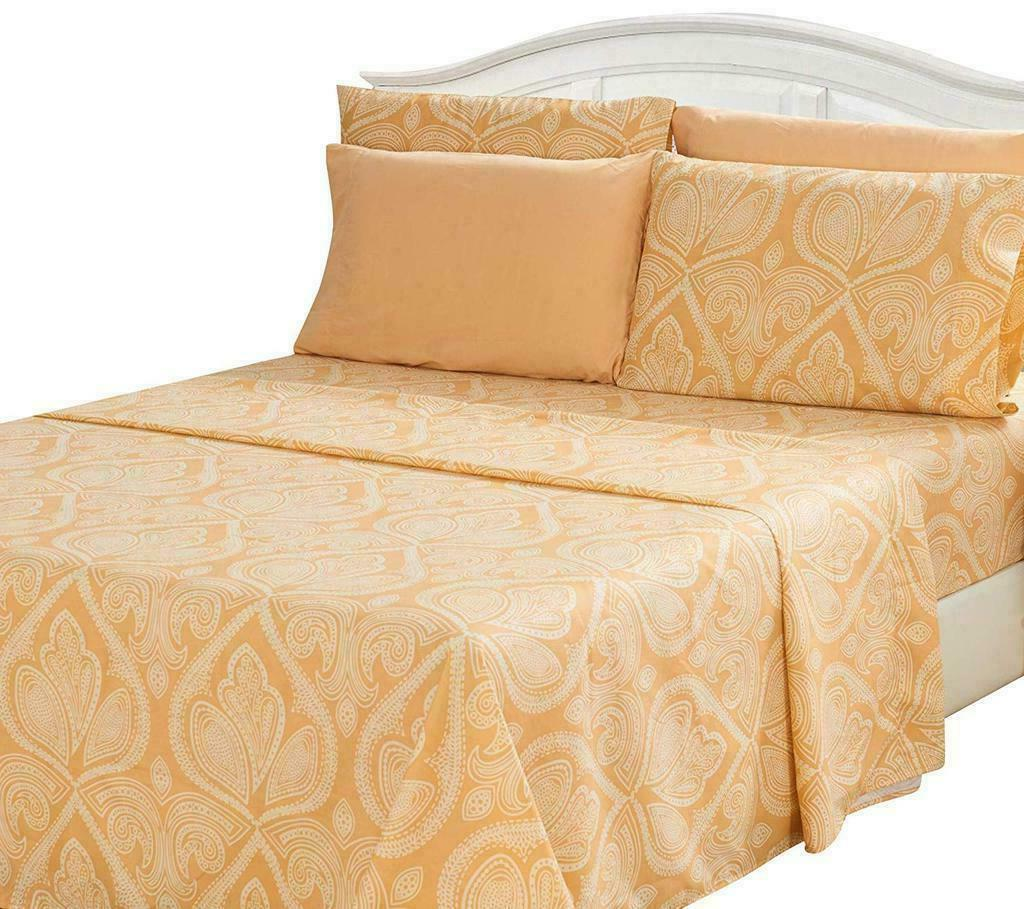 Deep Bed 6 Set 1800 Count Egyptian Paisley Sheet
