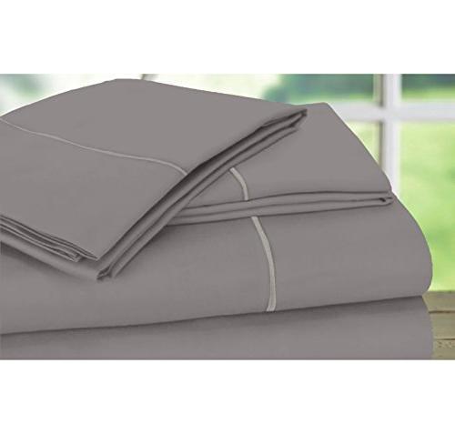 600 thread cotton sheet set