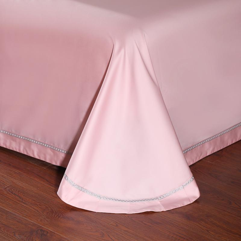 650 Thread Embroidery Bedding Sets 100% <font><b>Extra</b></font> Long Staple Cotton Bed